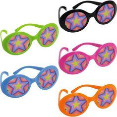 Disco Fever Printed Glasses 10ct