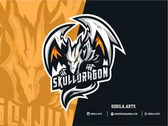 Dragon Esport Logo Gaming Teams designed by Starla_arts. Connect with them on Dribbble; Logo Gaming, Logo Dragon, Robot Logo, Ninja Logo, Youtube Logo, Game Logo Design, Esports Logo, Team Games, Animal Logo