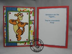cricut tigger card - Google Search