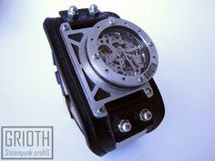 industrial steampunk custom watch GRIOTH I-RON https://www.facebook.com/grioth.steampunkcrafts