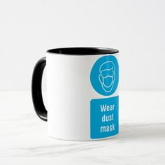 Wear Dust Mask Mug - good gifts special unique customize style