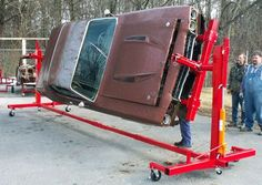 3000 lbs auto rotisserie car truck restoration tool time left