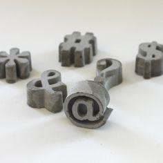 Cement symbols.