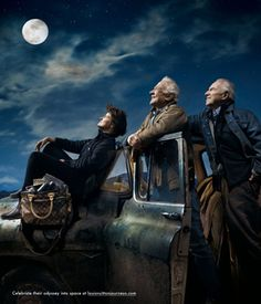 Astronauts - Ride, Aldrin, and Lovell by Annie Liebovitz