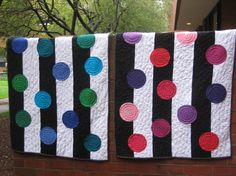 Really BIG stripes and dots! Pippapatchwork