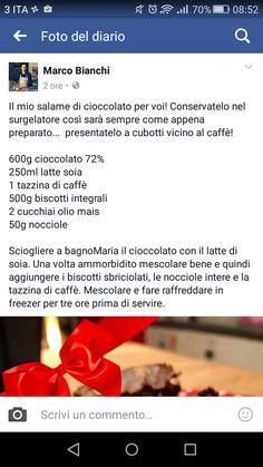 Salame al cioccolato di Marco Bianchi