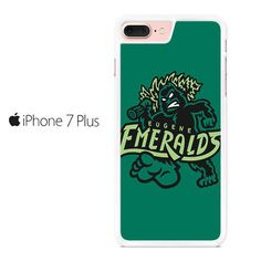 Eugene Emeralds Basebal Logo Green Iphone 7 Plus Case