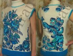 Russian Folk, Painting, Image, Tops, Fashion, Moda, Fashion Styles, Painting Art, Paintings