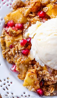Here's a recipe for warm, gooey, brown sugar oat topped gluten free apple crisp. This flourless dessert exceeded my expectations; it's AMAZING. And simple.
