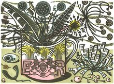 Angie Lewin........genius with a lino tool!