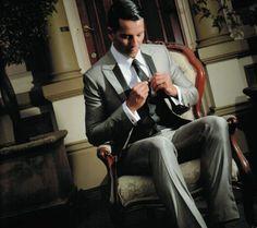 Bespoke Wedding Suit / Vintage Classic Check out Vintage Wedding Suits, Vintage Men, Tailor Made Suits, Dramatic Lighting, Dapper Gentleman, Mens Attire, Bespoke Tailoring, Wedding Photos, Wedding Stuff