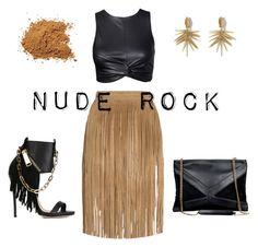 """Nude rock"" by mari-angeles-archidona-cabeza on Polyvore featuring moda, Tamara Mellon, Dsquared2 y Vince Camuto"