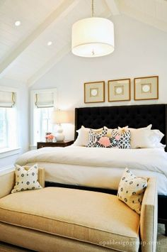 danielle oakey interiors: My Top 4 Ways To Style Above a Bed!