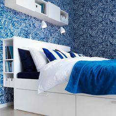 Rangements chambre : sélection de lits avec rangements - Côté Maison