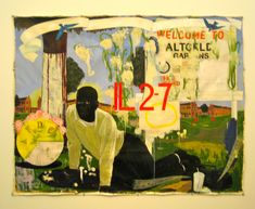 Glimpse of solace: Kerry James Marshall at MCA | Solace in a Book