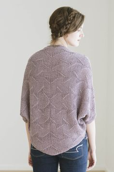 bridie by bristol ivy / from the kestrel 2016 collection by the quince design team / in quince & co. kestrel, color minos