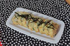 Egg Roll (Gaeran Mari);  same as moms.  She added red Korean pepper flakes.