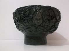 The Maiden the1st face of the Maiden, mother & crone offering bowl