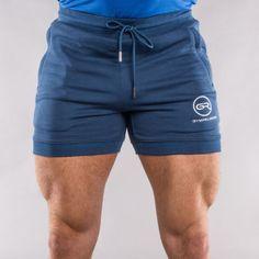 Mens Gym Religion Shorts Muscle Bodybuilding Training Running Blue - S M L XL | Shorts | Men's Clothing - Zeppy.io