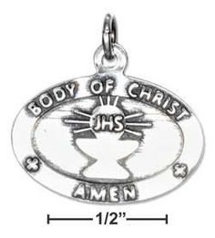 """Sterling Silver """"My First Communion"""" Charm-Limited supply!"""