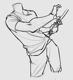 砂 body katana Drawing Body Poses, Body Reference Drawing, Drawing Reference Poses, Anatomy Reference, Drawing Tips, Drawing Tutorials, Anatomy Poses, Anatomy Art, Anatomy Sketches