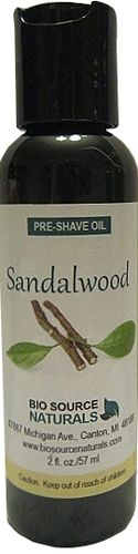 Sandalwood Preshave Oil 2 fl oz 57 ml, $15.95. Made with Sweet Almond Oil,Sunflower Oil, Apricot Kernel Oil and pure essential oil of Sandalwood from India. Softens the beard and protects the skin. Prepares the skin for a close and comfortable shave. ideal for men with sensitive skin, ingrown hairs, razor burn or tough beards. Aromatherapy & Natural Remedies for Exhaustion & Fatigue.