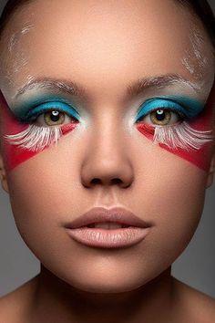 Najlepsze Obrazy Na Tablicy Art Makijaż 445 Makeup Artistry