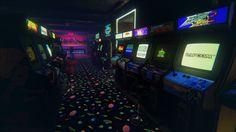 Arcade Room #gaming #arcade #oldschool #retrogamer