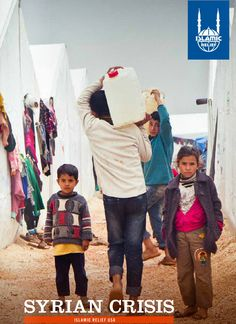 """By the end of the year it is estimated that half of the population of #Syria will be in need of aid. This includes an anticipated 3.45 million Syrian refugees and 6.8 million Syrians inside the country, many of whom will be displaced from their homes."" - UNHCR  Whatever you can give will make a difference."