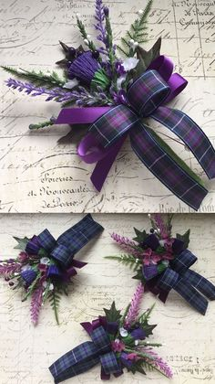 Scottish Thistle and Tartan Wedding Button Holes Guides for Brides uk Celtic Wedding, Irish Wedding, Our Wedding, Dream Wedding, Wedding Ideas, Wedding Decorations, Wedding Stuff, Wedding Inspiration, Scottish Wedding Dresses
