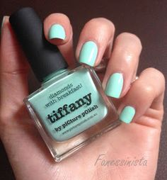 Fanessinista: (Must-have) Picture Polish - Tiffany