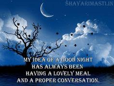 Good Night Shayari Wishes