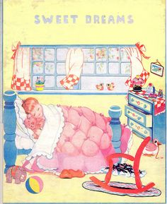 Kathleen Taylor's Dakota Dreams: Thursday Tab- Housekeeping with the Kuddle Kiddies, 1936