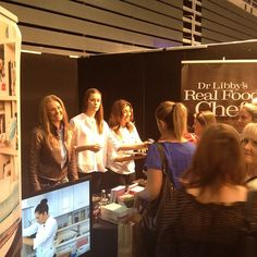 Loving sharing Real Food Chef magic with @chefcynthialouise1 at @the_food_show Come see us at stand 11 in beautiful sunny Christchurch!