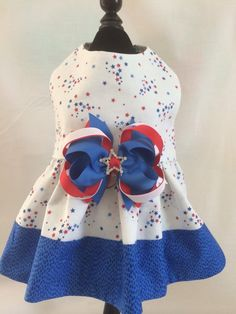 Spectacular Stars  Stripes 4th of July Ruffled by princessamee, $42.00