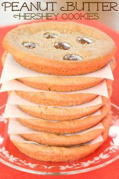 Giant Peanut Butter & Hershey Cookies~ Blooming on Bainbridge
