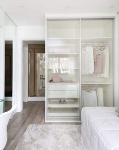 33 Vintage Bedroom Decor Ideas to Turn your Room into a Paradise - The Trending House Bedroom Closet Design, Girl Bedroom Designs, Bedroom Wardrobe, Wardrobe Design, Small Room Bedroom, Closet Designs, Small Rooms, Girls Bedroom, Bedrooms