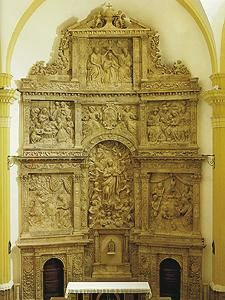 Escatrón. Retablo de D. Forment, anteriormente ubicado en el Monasterio de Rueda