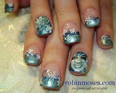 Nail-art by Robin Moses: December 2010