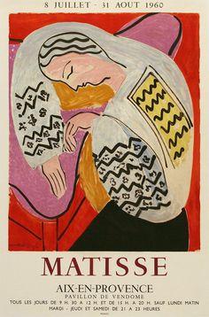 Matisse Gallery Poster - Aix en Provence - 1960 / 19 / 28