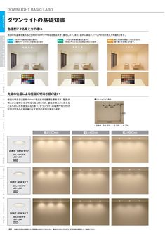 DAIKO_LIFE2017-2018 Cove Lighting, Interior Lighting, Lighting Design, Japanese Home Decor, Japanese House, Japanese Lighting, Interior Design Work, Downlights, Interior Architecture