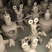 Here Comes Dr Fluff's Robot Factory - 3D Printing Industry