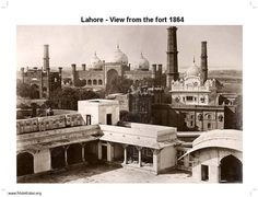 Lahore- View from the Fort 1864