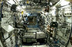space-wallpapers:  Inside the ISS