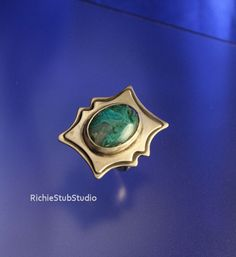 Chrysocolla Ring Handcrafted by Richie Stub