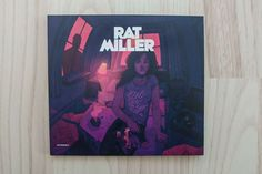 Rat Miller - Electric Heartache album artwork CD on Behance