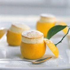 Little Lemon Souffles by katiebrown #Lemon_Souffle