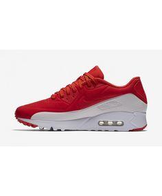 Nike Air Max 90 Ultra Moire Light Crimson White UK