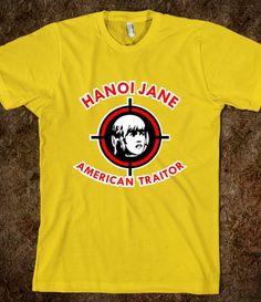Hanoi Jane American Traitor