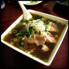 Delicious broth! - 2件のもぐもぐ - Beef Tendon and Rare Beef Pho by stephanie mizuha